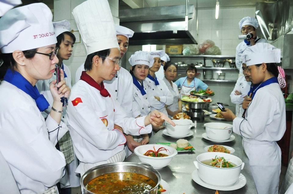 ベトナム人特定技能生の調理者