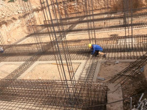 ベトナム人特定技能生が建設工場に作業